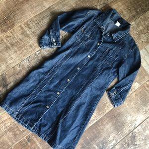 EUC Girls denim shirt dress from The Gap